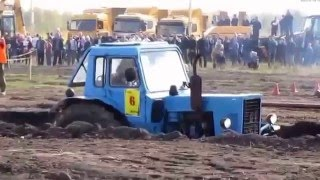 Трактора в грязи. Подборка фотографий. Tractor in the mud. A selection of photos.