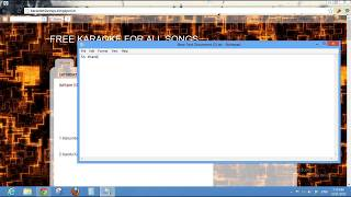 How to Download karaoke of malayalam , hindi , tamil songs for free