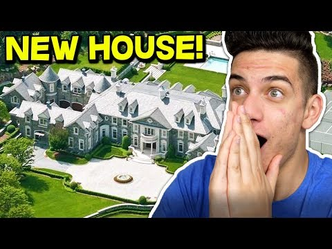 MOOSECRAFT BUYS A NEW $10,000,000 HOUSE! (2018) 😱