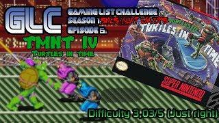 Game List Challenge Episode 6 TMNT IV Turtles in Time (Snes)