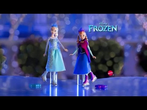 Toy Commercial 2014 - Frozen - Ice Skating Anna & Elsa Dolls - Skate & Twirl Around Arendale
