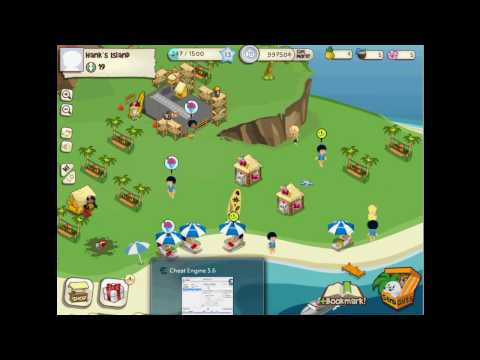 Facebook TiKi Resort coins exp level cheat 金錢/經驗值/等級 修改