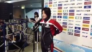 ジャパンオープン2012:大塚美優(女子200m個人メドレー)