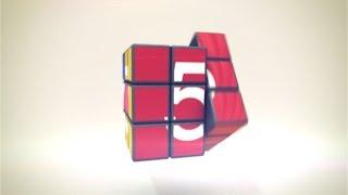 Repeat youtube video 無料動画素材 ルービックキューブのカウントダウン  Rubik's Cube Countdown