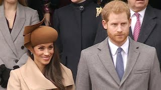 Meghan Markle joins royal Christmas celebration with Prince Harry