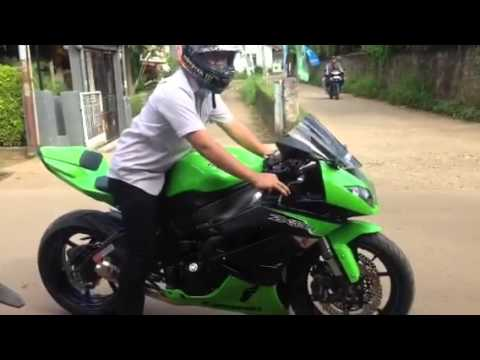 ZX6R Indonesia Test Drive