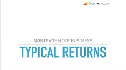 Typical Mortgage Note Returns