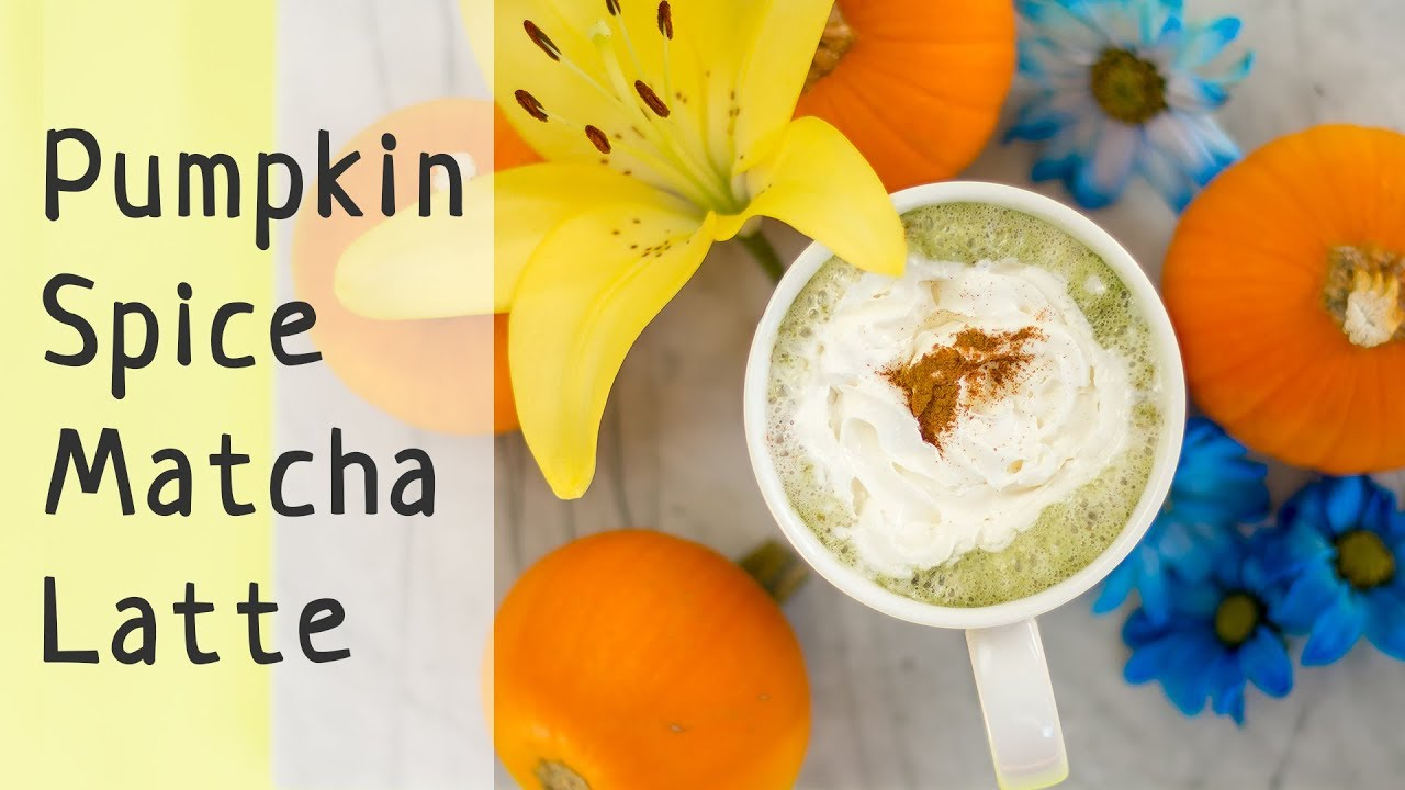 f062e877ea969f How to Make Pumpkin Spice Matcha Latte at Home (Healthier Than at Starbucks)