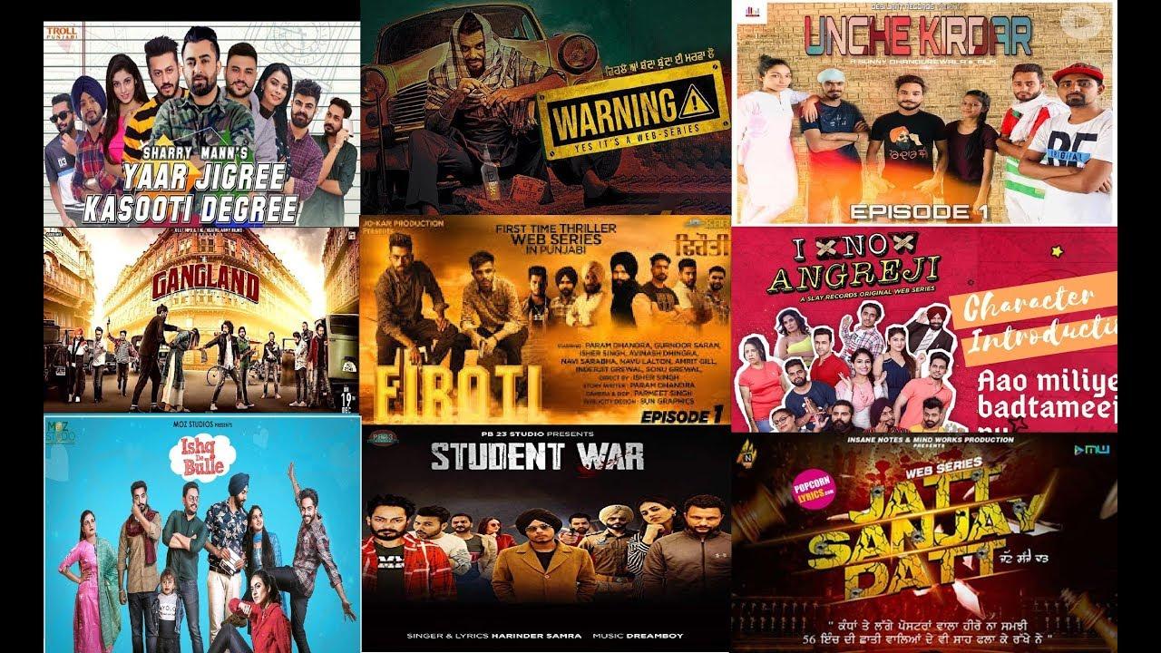 Top 10 Best Punjabi Web Series 2019 YouTube