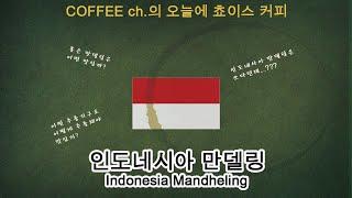 [커피채널] 오늘의 쵸이스 커피 - 인도네시아 만델링