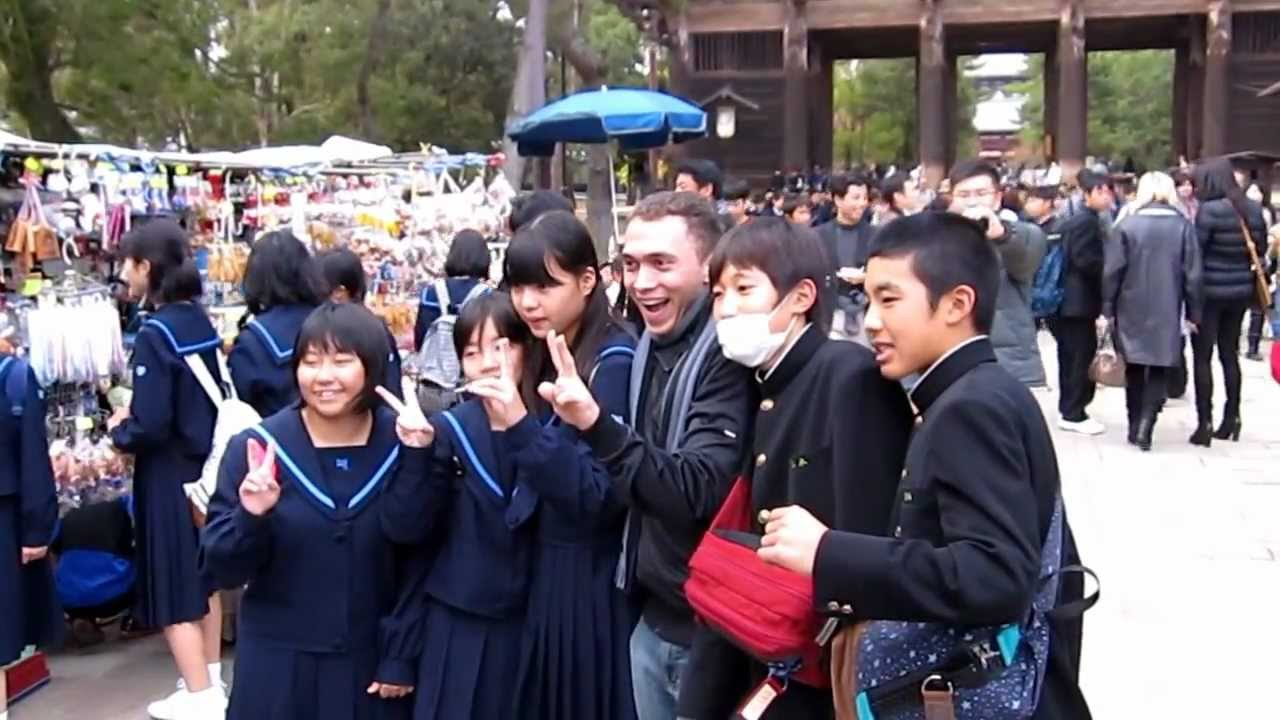 Jose 15 Minutes Of Fame Among Japanese Middle School -7965