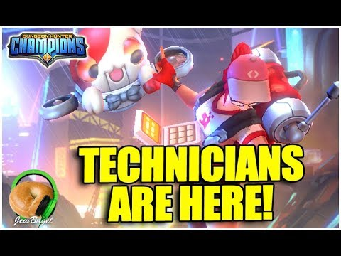 DUNGEON HUNTER CHAMPIONS: Technician Champions Are Here!