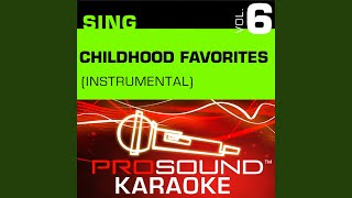 Alphabet Song Karaoke Instrumental Track In the Style of