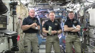 "Space Station Astronauts Describe what it is ""Like"" Living and Working in Space"