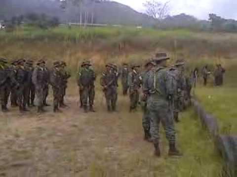Soldados del Batallón de Selva No.17 Zumba, Provincia de Zamora-Chinchipe.