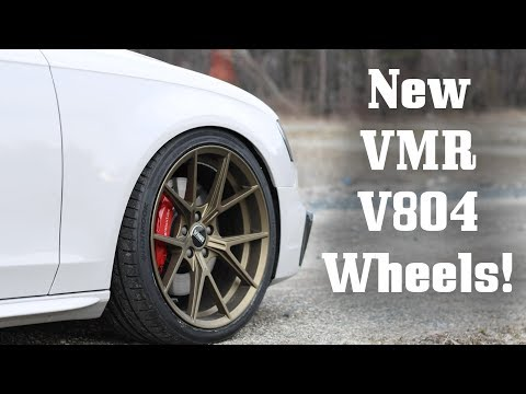 NEW VMR V804 Wheels on B8.5 S4!