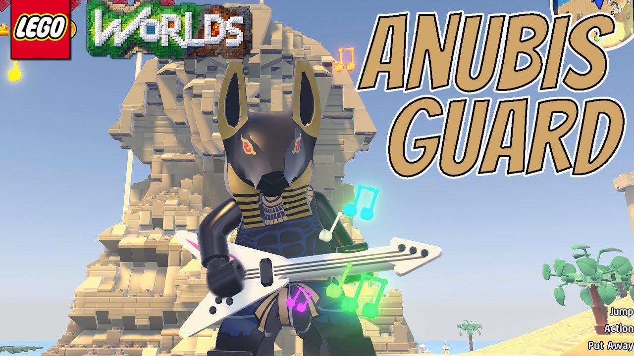 LEGO Worlds Anubis Guard Free Roam Gameplay