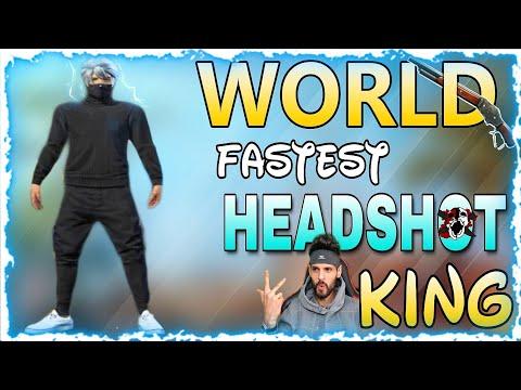 World Fastest HEADSHOT Player || Free Fire Fastest Thailand Player