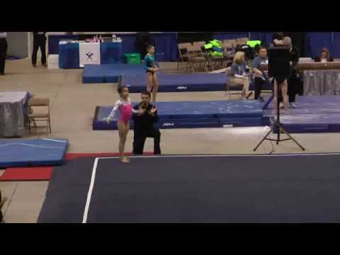 Nikki Beckwith Floor - 2015 Elite Qualifier Columbus