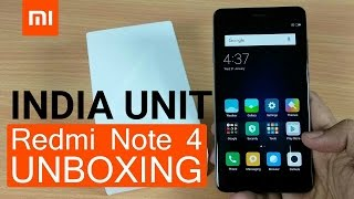 Xiaomi Redmi Note 4 Unboxing (india unit) | Quick Review | Camera shots
