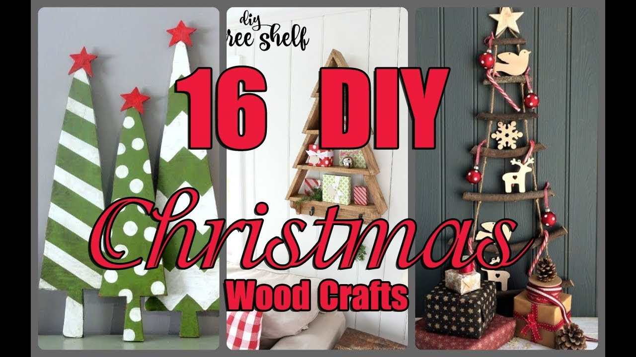 Christmas Wood Crafts.16 Diy Christmas Wood Crafts