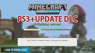 MINECRAFT PS3 + DLC UPDATE