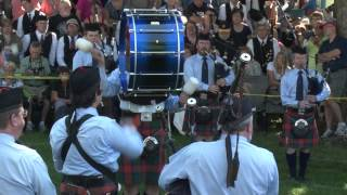 78th Fraser Highlanders - Medley - Kincardine 2014