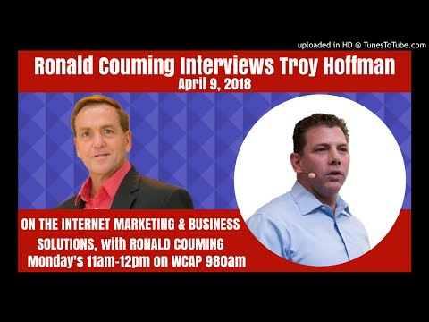 Ronald couming interviews Troy Hoffman, founder of Simpluris, Entrepreneur, CEO,  April 9th 2018