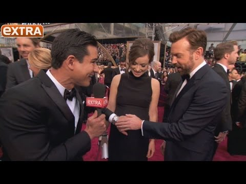 Oscars 2014: Did Olivia Wilde and Jason Sudeikis Just Reveal Their Baby's Name?