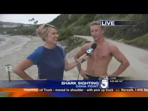 SPEECHLESS: Watch This Reporter GET MOIST While Interviewing This Australian Guy!
