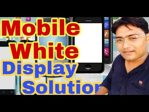 ANDROID MOBILE BLANK AND BLUE DISPLAY PROBLEM AND SOLUTION ALL China mobile  white display solution