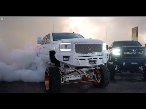Big Sema Trucks Burning Out Video Is Full Of Burnouts