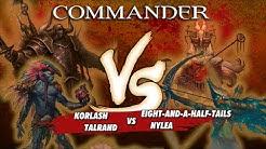 Commander Versus Series - Deck Tech: Talrand v. Korlash v. Eight-And-A-Half-Tails v. Nylea