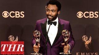 'Atlanta' Donald Glover Post Emmy Win Press Room Q&A | THR