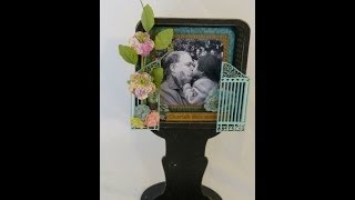 Altered Wood Photo Shadow Box Frame Part-4(final Part!)