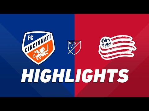 FC Cincinnati vs. New England Revolution | HIGHLIGHTS - July 21, 2019