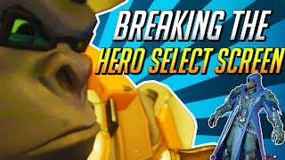'Breaking the Hero Select Screen'   Overwatch Mishaps 18