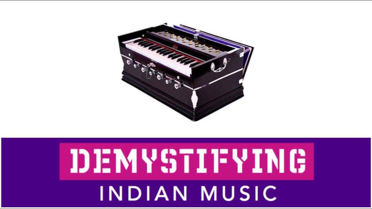 how to play harmonium in hindi song