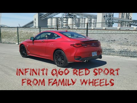 Is it Worthy?!? Infiniti Q60 Red Sport full review from Family Wheels