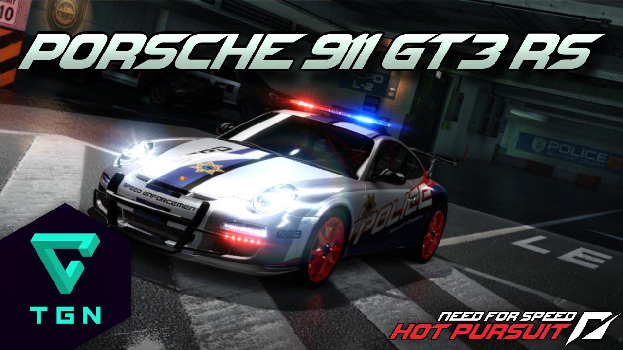 need for speed hot pursuit porsche 911 gt3 rs cop. Black Bedroom Furniture Sets. Home Design Ideas