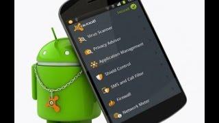 видео Обзор антивирусов для мобильных телефонов - мобильные антивирусы