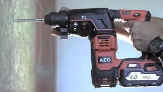 AEG Powertools Edwin demonstreert de BBH 18 boorhamer
