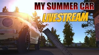 My Summer Car - (LIVESTREAM) Building the Satsuma  (part 2) + 3D Printed Satsuma