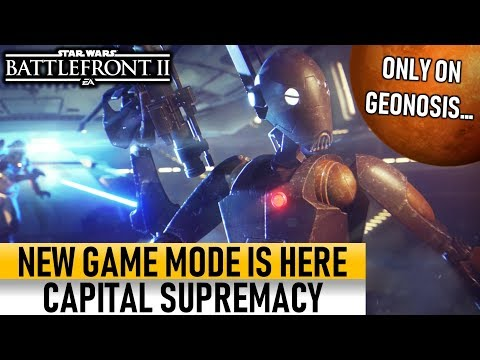 NEW GAME MODE: CAPITAL SUPREMACY IS HERE! Star Wars Battlefront 2 thumbnail