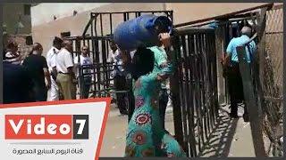 بالفيديو..محافظ القاهرة يتفقد مستودع غاز عين الصيرة.. ويؤكد: