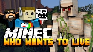"Minecraft: Who Wants To Be Alive | Challenge Game - ""CREEPERS"""