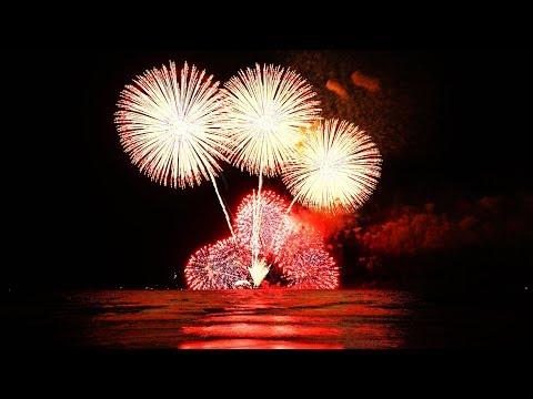 2017年鎌倉花火大会中止→開催の裏事情。水中花火が見れてよかった