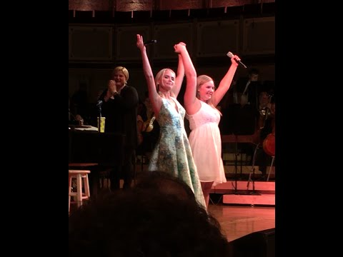 "Kristin Chenoweth sings duet ""For Good"" with 16 year old Brittany and Chicago Symphony Orchestra"
