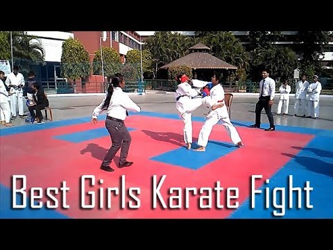 girls karate fight india 2017 youtube