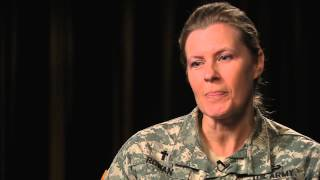 CH LTC Julie Rowan discusses Female Chaplains in the U S  Army